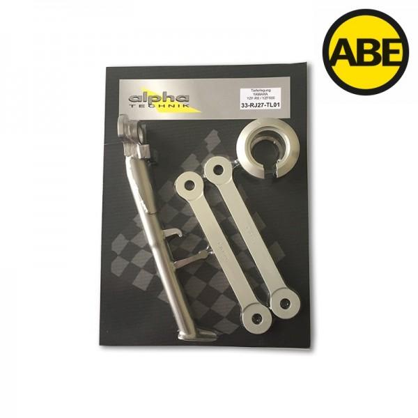 Kit para bajar la suspension para Yamaha YZF-R6/YZF600, RJ27