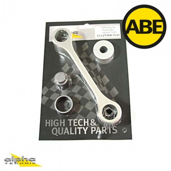 Kit para bajar la suspension Kawasaki Versys1000, LZT00A