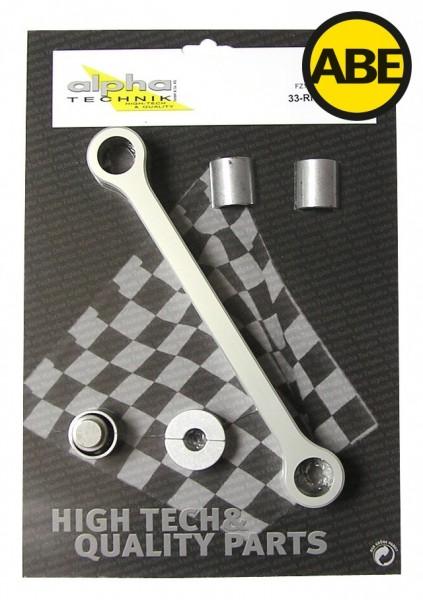 Kit para bajar la suspension Yamaha FZ1 / FZ1 Fazer, RN16