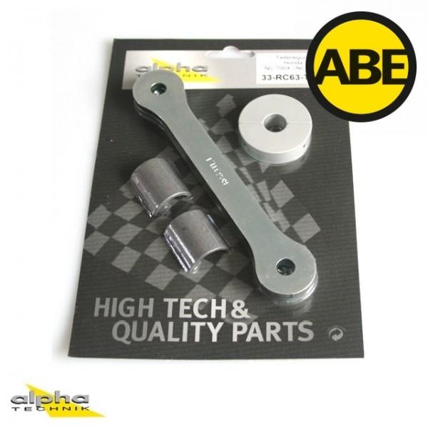 Kit para bajar la suspension Honda NC700X/NC700S, RC63/RC61