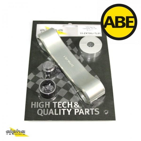 Kit para bajar la suspension Kawasaki ZX10R, ZXT00J