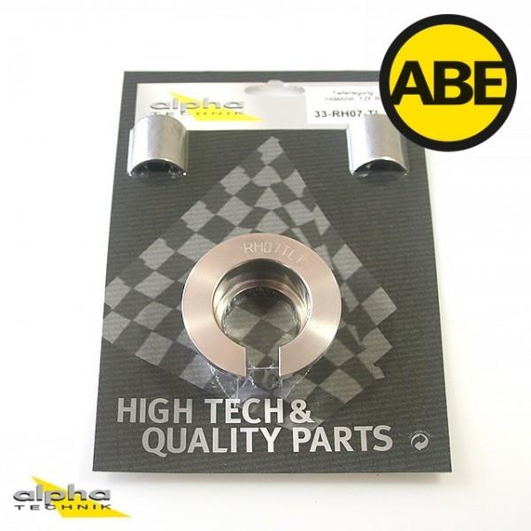 Kit para bajar la suspension para Yamaha MT03, RH07