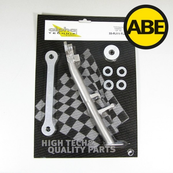 Kit para bajar la suspension Yamaha YZF600R6, RJ11