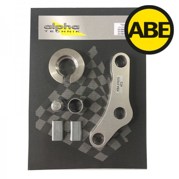 Kit para bajar la suspension Yamaha XSR700, RM11/RM12